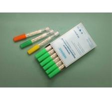 Термометр медицинский ртутный в пластиковом футляре, Meridian