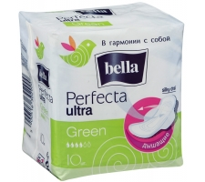 "Прокладки ""Bella"" Perfecta Ultra Green 10шт/ уп"