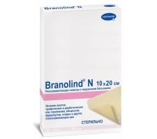 BRANOLIND N - Повязки с перуанским бальзамом (стерильные): 10 х 20 см; 30 шт/уп