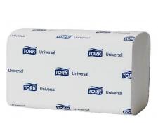 """Полотенца бумажные листовые ZZ-сл. / 1 сл. / 250 листов 23х23 см, """"Tork Universal"""" (120108)"""