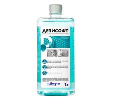 Дезисофт без дозатора 1л. жидкое мыло с дезинф. эффектом