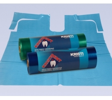 Фартуки полиэтиленовые в рулоне KRISTIDENT 56х76см, 200 шт/рул