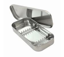 Лоток стоматологический ЛМСУ с крышкой и укладкой