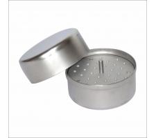 Лоток стоматологический с крышкой и укладкой для эндоканального интрумента ЛСКЭ-76х55
