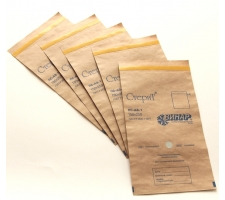Пакет из крафт-бумаги самоклеющийся 75 х 150мм, СтериТ