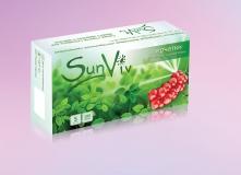 Перчатки виниловые н/с н/о, SunViv 100шт./уп
