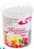 """Ватные палочки 100шт/уп (в пласт. стакане), """"Емельянъ Савостинъ"""" / (х1(х64)"""