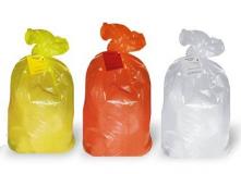 """Пакеты для медотходов класс """"Б"""" 60 л (цв. жёлтый) 100 шт/уп"""