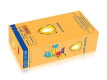 Перчатки латексные смотр. н/с н/о текстур. стоматологические 2-хлор Safe & Care 100шт/уп